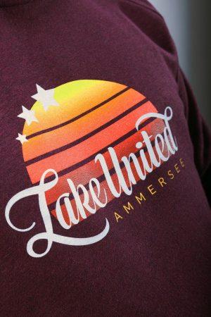 Ammersee Hoodie Lake United Herren von Ammersoul