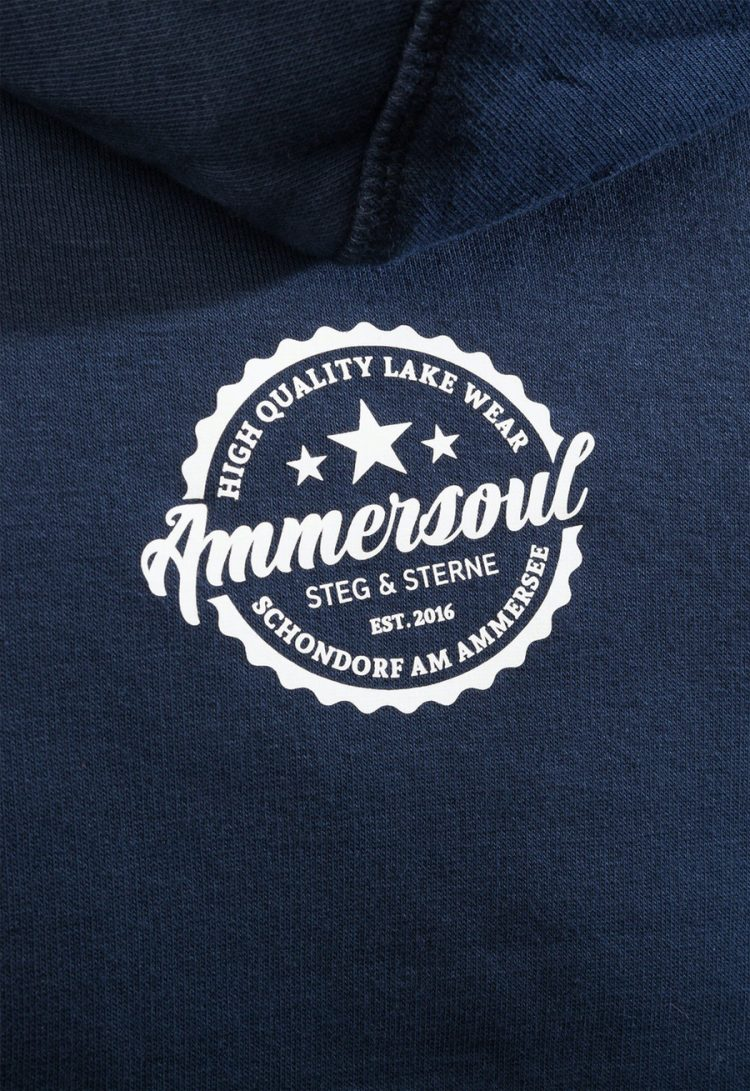 lake united hoodie navy damen