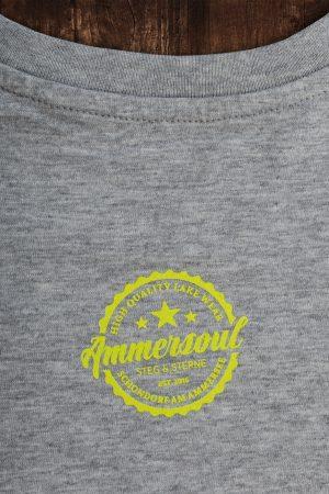 Ammersee T-shirt Kinder grau