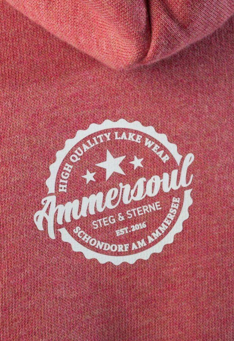 ammersee hoodie kinder lachsort
