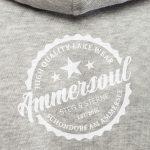 ammersee hoodie grau