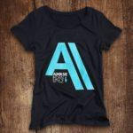 Ammersee Big-A T-shirt Damen von Ammersoul