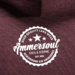 Ammersee Hoodie Damen von Ammersoul in Bordeaux