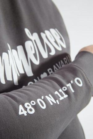 Ammersee Sweater Herren von Ammersoul in Anthrazit