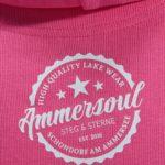 Ammersee Hoodie Damen von Ammersoul