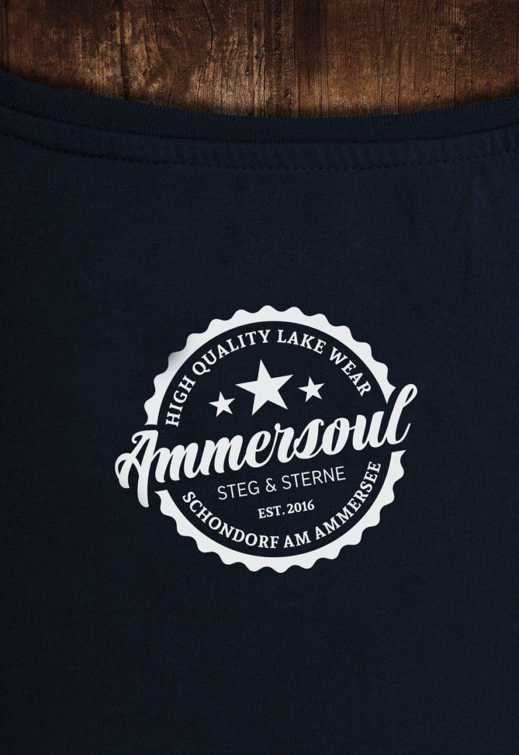 Ammersee Fisch T-shirt Herren von Ammersoul