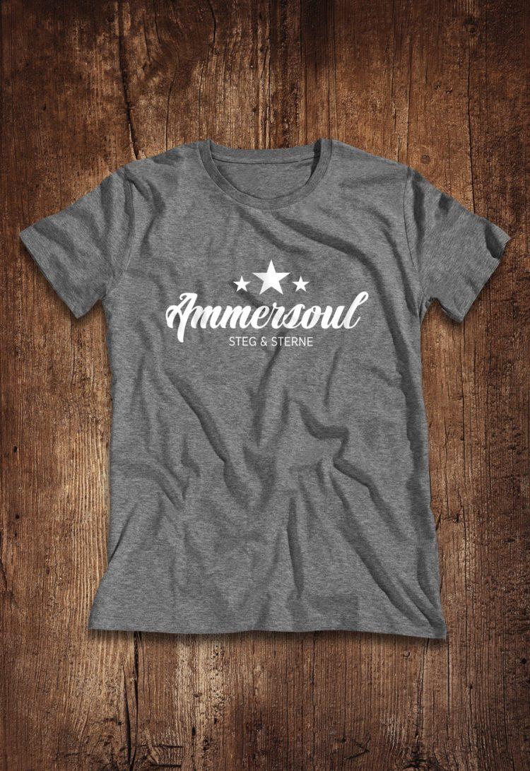 Ammersee Ammersoul T-shirt Herren Dunkelgrau