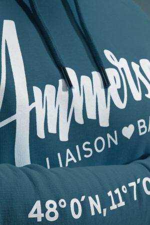 Ammersee Hoodie Seegrün Herren von Ammersoul