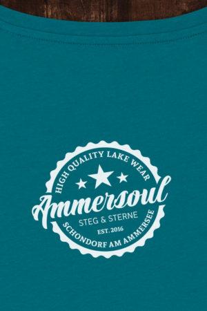 Ammersee T-Shirt Damen Petrol von Ammersoul